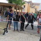 Amatrice, inaugurata l'area giochi nel parco don Minozzi