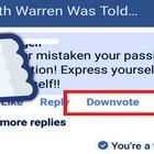 """Facebook, niente pollice verso: per declassare commenti incivili arriva il """"downovote"""""""