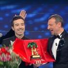 Sanremo 2020, diretta serata finale: Diodato guida la classifica provvisoria. Elodie super sexy