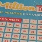 Million Day, i numeri vincenti di giovedì 2 gennaio 2020