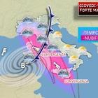 Allerta meteo: forti temporali attesi su Roma, ciclone su Piemonte e Campania