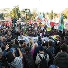 Corteo contro il razzismo a Roma