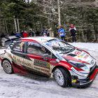 Rally di Montecarlo, tappa finale: tre piloti in sei secondi, Evans in testa