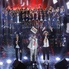 Lo Stato Sociale sale sul palco con i bimbi del coro dell'Antoniano. E la canzone viene censurata