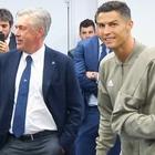 Ancelotti a France Football: «CR7? Un errore andare alla Juve»