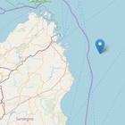 Terremoto al largo di Olbia: scossa magnitudo 3.5 nella notte