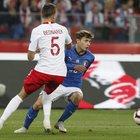 Biraghi salva l'Italia, Polonia ko Azzurri non vincevano da un anno