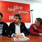 Paolo Ruffini e la compagnia Mayor Von Frinzius al Sistina con Up&Down