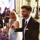 Noemi si è sposata con il bassista Gabriele Greco: cerimonia a Roma e super party su un barcone sul Tevere