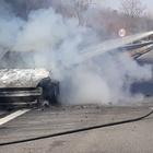 Rogo in autostrada, famiglia salva per miracolo