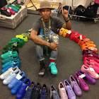 Dal 2024 solo plastica riciclata per le scarpe Adidas