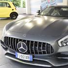 Mercedes in primo piano al Parco Valentino con la AMG GT C Roadster e la Smart Brabus