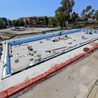 Universiadi, in costruzione la nuova vasca olimpica della Scandone