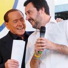 L'offerta di Salvini a Berlusconi: Senato a FI, ma il leader sono io