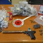 Cocaina in scooter: preso 14enne, trovata pistola con silenziatore