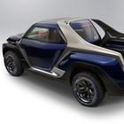 """Yamaha Cross Hub Concept, il pick-up per gli sportivi con 4 posti """"a diamante"""""""