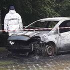 Choc in Campania: ritrovato un cadavere nell'auto bruciata