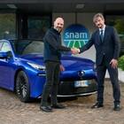 Accordo Snam-Toyota per accelerare sulla mobilità a idrogeno. Svilupperanno progetti per il trasporto pesante e leggero