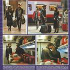 Cecilia Rodriguez e Ignazio Moser in treno (DiPiù)