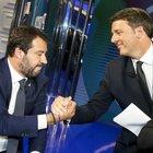 Porta a Porta, tra Salvini e Renzi niente colpi bassi: vince Vespa