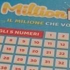 Million Day, i numeri vincenti di oggi venerdì 17 gennaio 2020