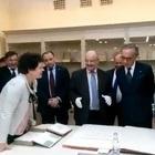 L'ambasciatore italiano scopre volumi sull'architettura di Napoli in un museo russo