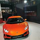 Lamborghini, al Ces la Huracan Evo con l'assistente vocale di Amazon Alexa