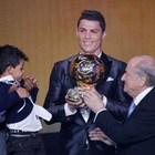 Cristiano Ronaldo junior: «Messi, sei il mio idolo»